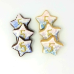 Custom Damask Star Favors