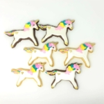 Rainbow Running Unicorn Favors